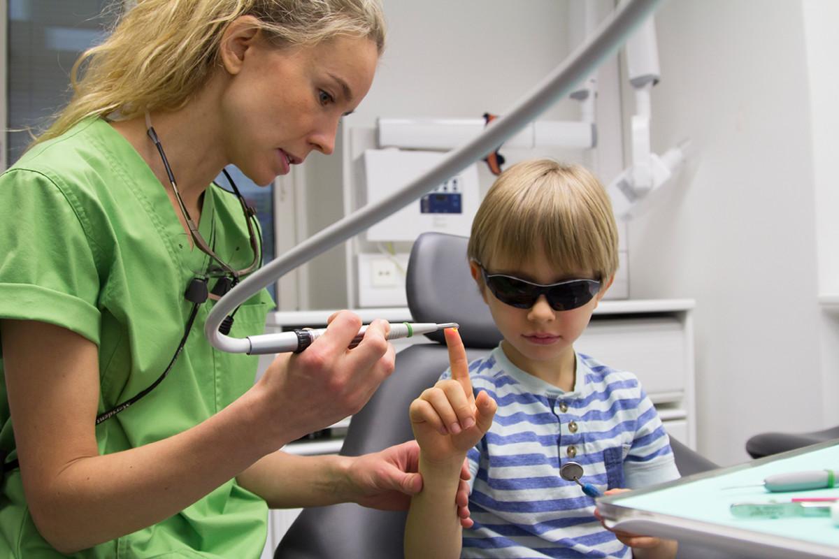 hammasl lapsi