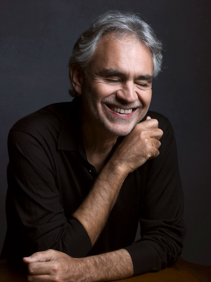 Andrea Bocelli – credit Mark Seliger, Decca Records