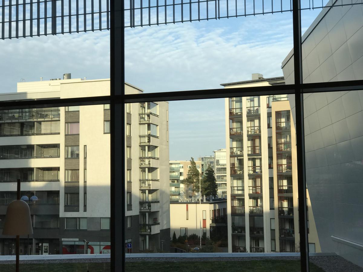 taloja ikkuna